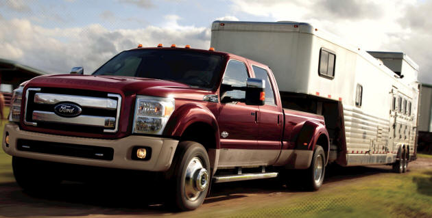 2011 Ford Truck Towing